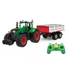 <b>Радиоуправляемый сельскохозяйственный трактор</b> с прицепом ...