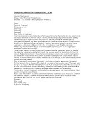 sample college recommendation letter from teacher cover letter sample college recommendation letter from teacher