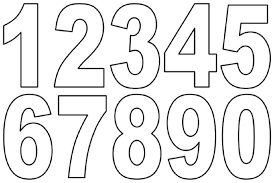 printing numbers laptuoso printing numbers 1 10 sheets loving printable