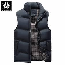 <b>Mens</b> Winter Sleeveless Jacket <b>Men Down Vest Men's</b> Warm Thick ...
