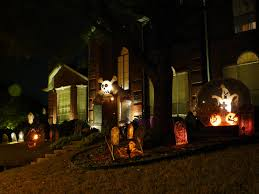 spooky outdoor decorations for the halloween night godfather to make at home child friendly halloween lighting inmyinterior outdoor