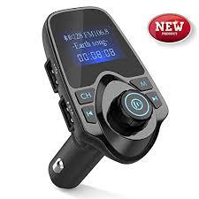 Bluetooth FM Transmitter for Car Clydek <b>Car Charger</b> Adapter 1.8 ...