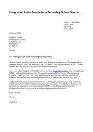letter of resignation format sample  seangarrette coletter of resignation format sample