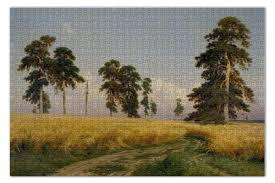 <b>Пазл 73.5</b>×<b>48.8 см</b> (1000 элементов) Рожь (картина Шишкина ...
