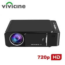 <b>VIVICINE</b> 1280x720p Portable HD Projector,Option Android 10.0 ...