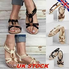 Womens <b>Knitted Elastic</b> Strap Sandals Ladies <b>Summer</b> Casual ...