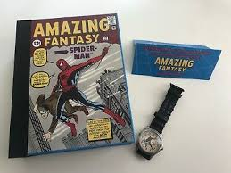 1994 Fossil удивительной Fantasy <b>Spider</b>-Man 1 наручные часы ...