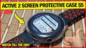 samsung galaxy watch active 2 all-around <b>tpu soft screen</b> protective ...