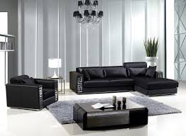 room fabio black modern:  living room fabio modern fabric sectional sofa cheap modern living room furniture black leather reclining