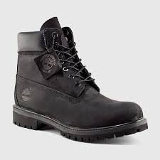 Timberland - Men's <b>6 Inch</b> Premium Boot (<b>Black</b> | Nubuck) | SNIPES