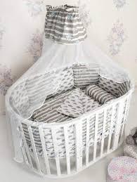 <b>Комплекты</b> в <b>круглую кроватку</b> для новорожденных купить