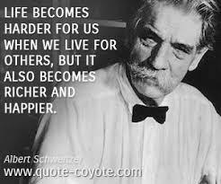 Albert Schweitzer quotes - Quote Coyote via Relatably.com