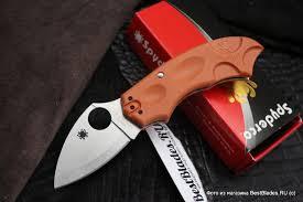 Купить <b>Нож складной</b> Spyderco <b>Meerkat</b> Sprint Run <b>Orange</b> ...