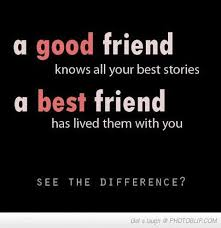 BEST FRIENDS QUOTES SHORT image quotes at hippoquotes.com via Relatably.com