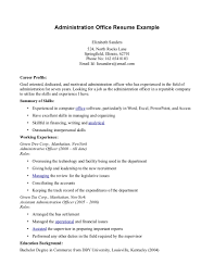 business administration resume office administrator resume resume medical office assistant skills