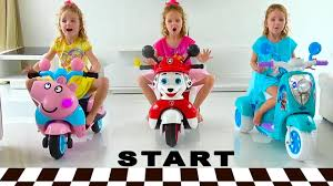 Child Play with new Power Wheels <b>Toys for kids</b> - YouTube
