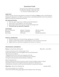 nanny job resume samples cipanewsletter nanny resume sample berathen com