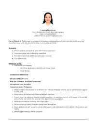 objectives in resume for slady first job objective examples a any cover letter objectives in resume for slady first job objective examples a any jobresume objective writing