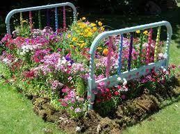 flower bed edging ideas area lighting flower bed