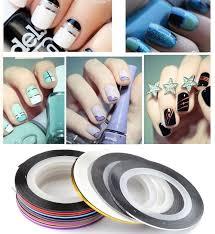 <b>30pcs</b> Mixed Color <b>Nail Art Sticker</b> Minx Foil On Decoration 30 meter ...