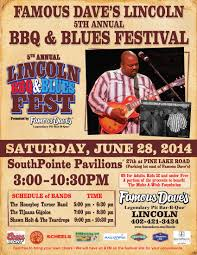 Lincoln Ne Events Famous Dave39s Bbq And Blues Fest Calendar Of Events News