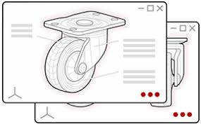 California <b>Caster</b> | <b>Wheel</b> | Leveler | Warehouse Equipment ...