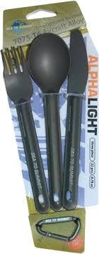 Купить <b>Набор Sea To Summit Alpha Light</b> Cutlery Set 3pc в ...