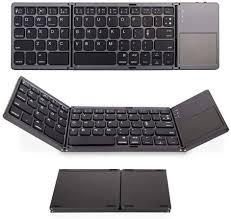 Calvas Mini <b>Folding Bluetooth Keyboard</b> Universal <b>Folding</b> With ...