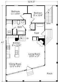 images about House Floor Plans on Pinterest   Floor Plans    Floor Plans   Tidewater Cottage   Coastal Living   Southern Living House Plans  Loft room