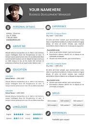 hongdae modern resume templatehongdae free modern resume template blue