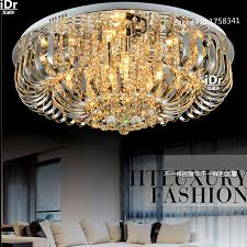 ceiling lights round led crystal room living room lamp bedroom lighting fixtures restaurant factory outlets cheap bedroom lighting