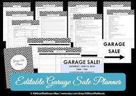 printable yard sign allaboutthehouse printables garage planner yard