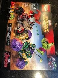 LEGO <b>Marvel Super Heroes 76078</b> HULK vs. RED HULK NEW ...