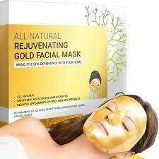 Anti-Wrinkle & Rejuvenating <b>Gold Facial Sheet Mask</b> | Doppeltree