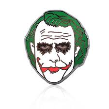SG Movie DC Joker Brooch Batman Pins Horror Clown <b>Chucky Face</b> ...