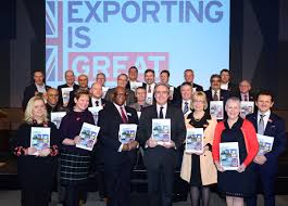 export champions forensic pathways forensic pathways ceo deb leary obe bottom right as export champion