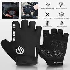 Unbranded MTB <b>Half Finger</b>/<b>Fingerless</b> Cycling Gloves for sale ...