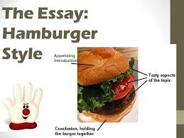 essay writing  hamburger helper style  the essay  hamburger style    the essay  hamburger style appetizing introduction