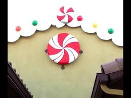DIY Giant Peppermint Candy decoration - Gingerbread  Candyland ...