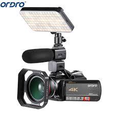 <b>Ordro AC5 4K UHD</b> 12X Optical Zoom <b>Digital</b> Cameras FHD 24MP ...