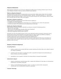 finance resume sample objective cipanewsletter resume template resume objective for administrative assistant