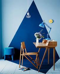 27 stylish geometric home office dcor ideas blue office decor