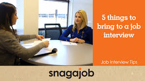 job interview tips part things to bring to a job interview job interview tips part 6 5 things to bring to a job interview