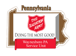 the salvation army service unit of waynesboro pa we greatly appreciate your willingness to learn connect and partner our program that