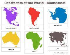 Mapa mundial: лучшие изображения (15) в 2016 г. | Монтессори ...