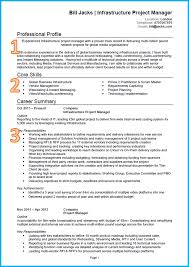 example of a good cvproject manager cv