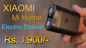<b>Xiaomi Mi</b> Home Waterproof Rechargeable Men <b>Electric shaver</b> for ...
