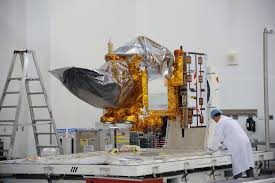 jason 3 critical to understanding rising sea levels interview the jason 3 satellite undergoing final preparations for placement in a payload fairing for launch