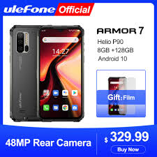 <b>Ulefone Armor</b> 7 Android 10 Rugged Mobile Phone 2.4G/5G WiFi ...
