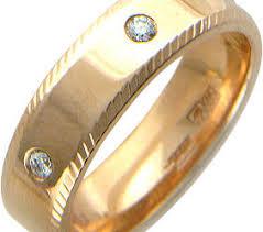Фото «Платиновое обручальное парное <b>кольцо</b> Эстет ...